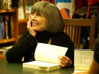 Anne Rice signing